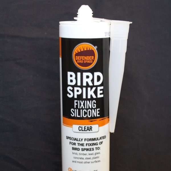 Adhesive for bird spikes